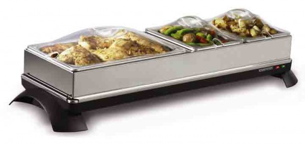 2 in 1 cordless buffet server warming tray toastess rh toastess com Warming Buffets for Utensils warming trays buffet servers
